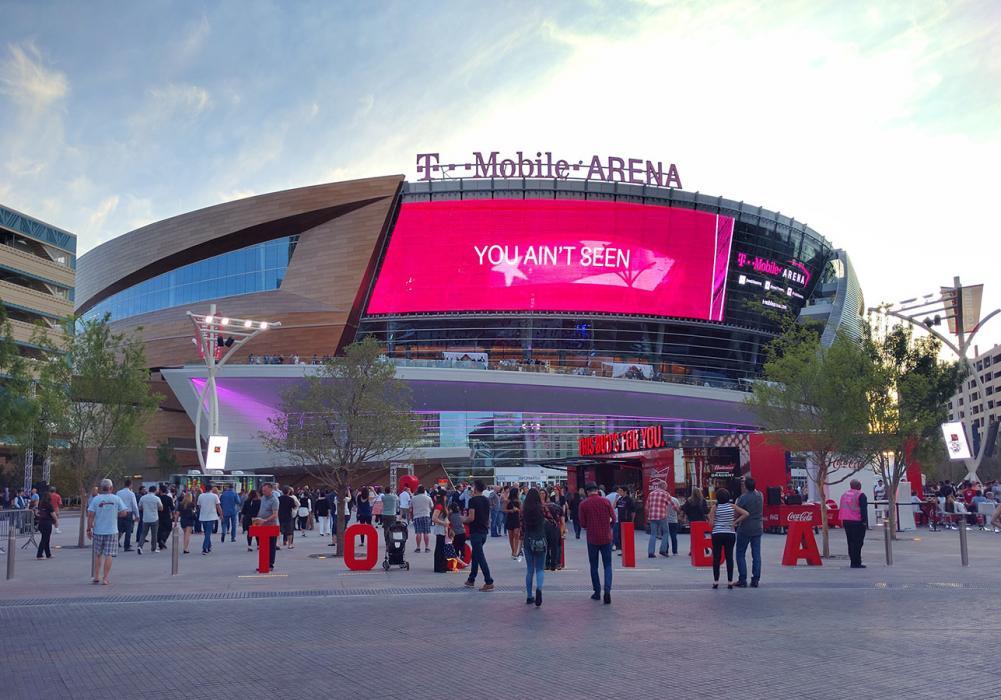 T Mobile Arena Thornton Tomasetti